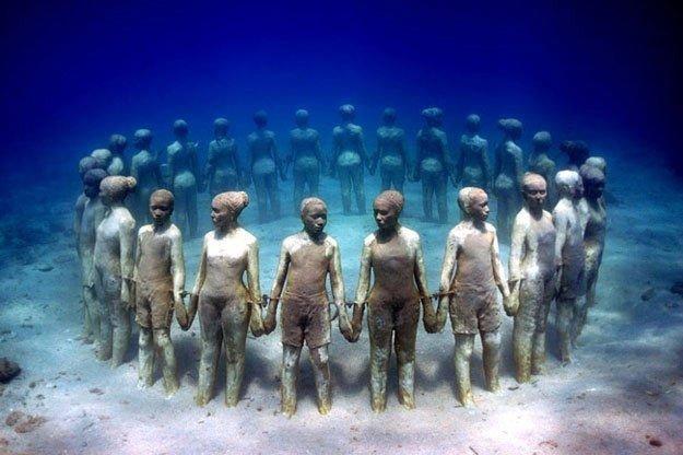 Cancun Underwater Museum Cancun Mexico 14