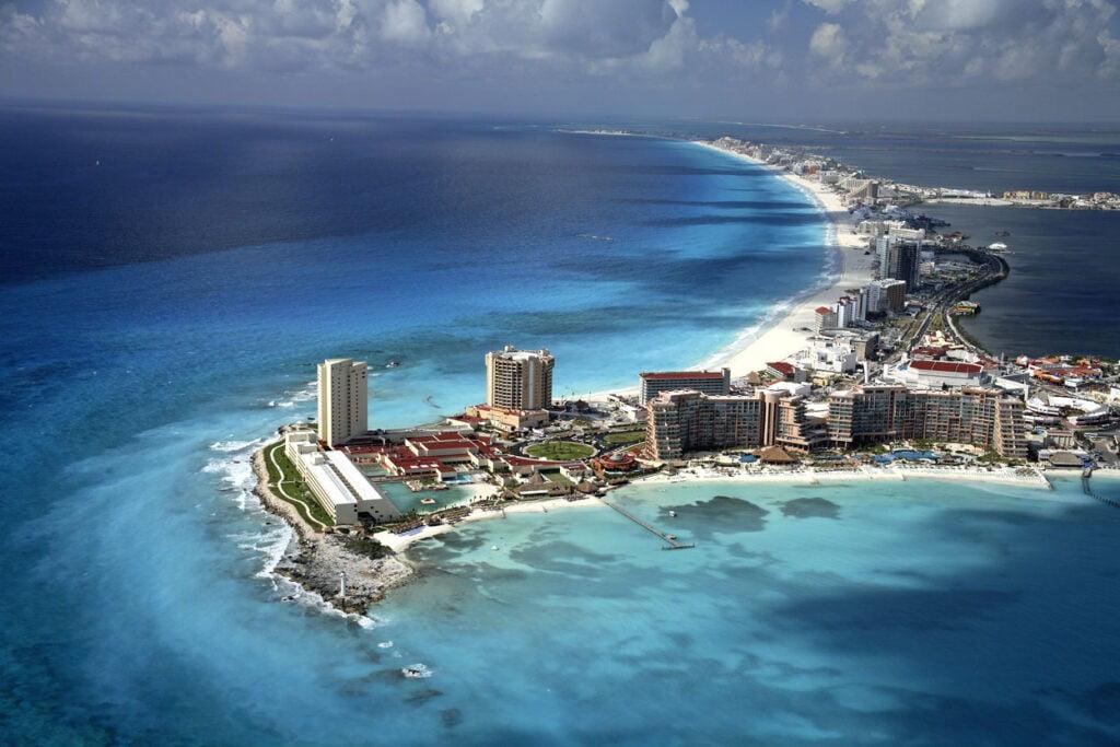 Cancun aerial photo bysafa