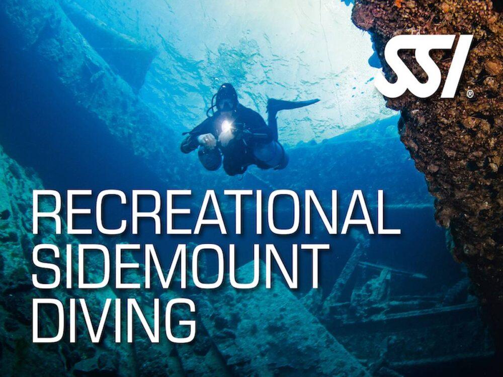recreational sidemount diving